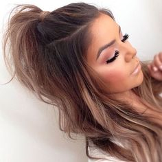 Thinking of getting your hair cut shorter? Then check out these Super Short Hair Styles 2015 - 2016 for instant short hair inspiration. In this short hair. Cute Hairstyles For Teens, Teen Hairstyles, Pretty Hairstyles, Half Pony Hairstyles, Hairstyle Ideas, Braid Hairstyles, Hairstyles Tumblr, Concert Hairstyles, Wedding Hairstyles