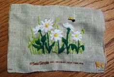 found this on a blog somewhere, will try and find a link for this. lovely stitching