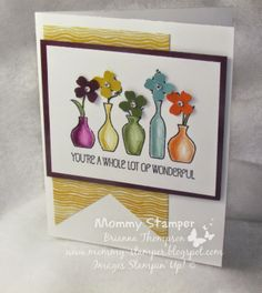 Mommy Stamper-Brianna Thompson,2014-2016 In Colors, Vivid Vases, Stampin Up,Moonlight DSP paper pack