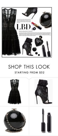 """#lbd"" by veronica7777 ❤ liked on Polyvore featuring Elie Saab, Dsquared2, Chanel, Lipsy and LBD"