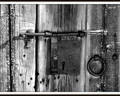 rustic wooden door