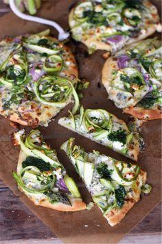 Mini-Spargel-Pizza © Das Knusperstübchen