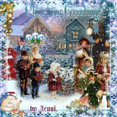 Victorian Christmas Eve.