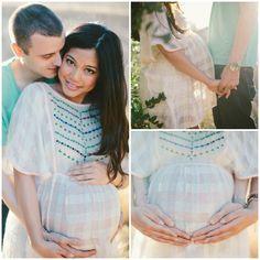 Maternity photos, baby bump