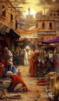 """Caravan Spice Road Art II Fernanda Suarez Art pieces I did for """"Century Spice Road"""" game 2017 planbgames (: Source by ramshidk Islamic Paintings, Indian Paintings, Art History Lessons, History Major, History Quotes, History Images, History Projects, History Facts, History Books"""