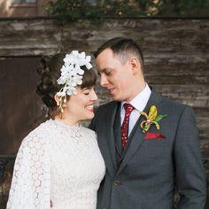 Faux Flower Crown Simple Flower Crown, Floral Crown, Wedding Looks, Bridal Looks, Bridal Style, Tiki Wedding, Wedding Pics, Wedding Bride, Vintage Tiki