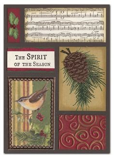 Use old cards to make this - Christmas Cards