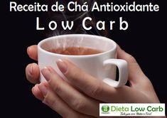Receita de chá antioxidante low carb – Todos sabemos dos poderes das ervas. Em todo o processo de alimentação e Bebidas Low Carb, Tortillas, Paleo, Dieta Low, Mugs, Tableware, Fitness, Tea Recipes, Coconut Flour