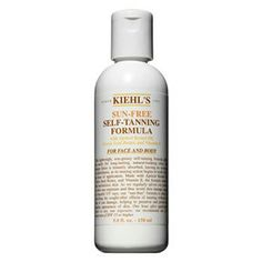 Best Smelling Sunless Tanner: If you can't stand the smell of other sunless tanners or simply like to keep up the illusion that you've just returned from a tropical getaway, try Kiehl's Sun Free Self-Tanning, which doesn't seem to have the smell of the other brands. It's light and subtle and the formula gets the job done, too.
