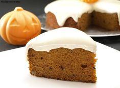 Pastel de calabaza con frosting de queso (Pumpkin Bars) - MisThermorecetas