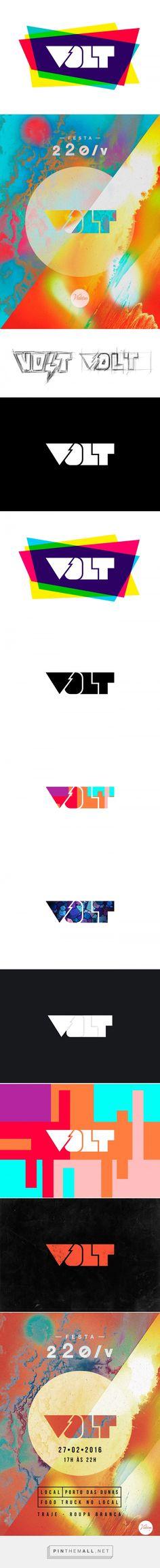 VOLT - Identity on Behance - created via https://pinthemall.net  #volt…