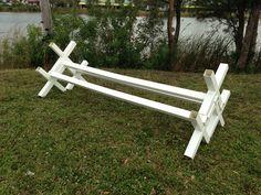 CAV18 - PVC Horse Jumps Cavalletti (1 unit)