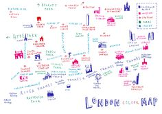 Mercedes Leon - London map