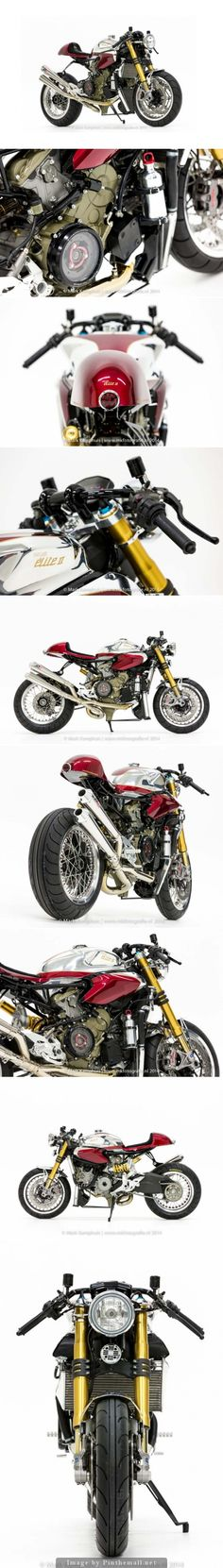 Ducati 1199 Panigale S Cafe-Racer by Moto Puro #special #custom #motorcycle