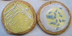 Microbiology cookies!!  Will have to make these for a symposium sometime!