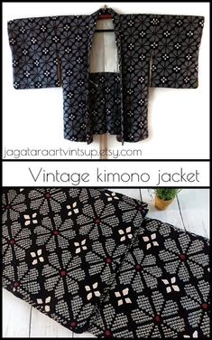 Black and white kimono jacket, Shibori silk haori for men and women, Vintage Japanese kimono jacket, Asian jacket, Kimono cardigan   #kimono #haori #kimonojacket #shibori #blackandwhite #silk #womensfashion #menswear #bohochic #asianjacket #kimonocardigan #etsy #vintage #vintagefashion