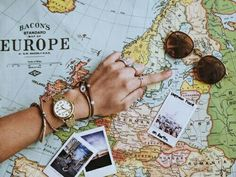 map, travel, and europe image