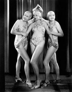 [Unknown chorus girls] 1933