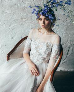 Не менее приятно представить вам Эмилию. Есть особая мелодичность в движении этого платья, как и в его имени  которую, надеемся, оценит каждая девушка. . Let us present you Emilia. Each movement of this dress is no less melodic as it's name. #mywonydress #dress #weddingdress #bridalgown #gown #weddinginspiration #mywony018collection #hautecouture #nybfw #newcollection #weddingfashion #свадебныеплатья #платьякиев #платьяднепр #платьеназаказ