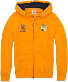 Hellas's sweatshirt with zip and hood - Hellas Collection - MAN - Franklin & Marshall - Franklin & Marshall