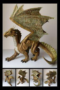 DragonSculpt by JessicaStauffer.deviantart.com on @deviantART