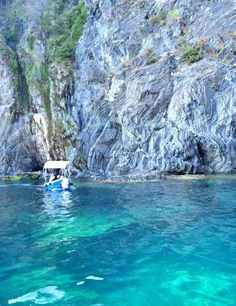 Sea swimming area in the Cinque Terre National Park.