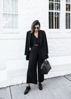 25 All Black Outfits For Women, Black on black outfit inspiration – LIFESTYLE BY PS