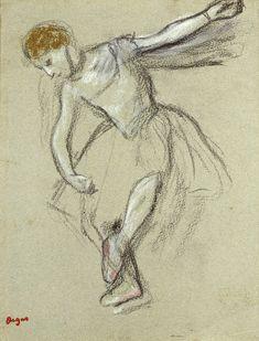 Edgar Degas - le danseuse