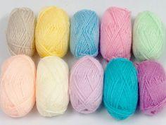 Amigurumi Baby Colors