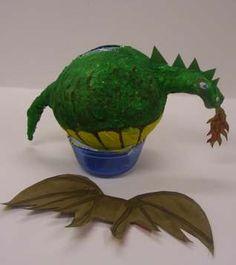 How to Make a Dragon Pinata