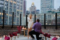 The Classic, Glamorous Perfect Marriage Proposal Style