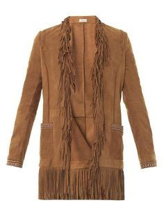 Fringe suede jacket | Talitha | MATCHESFASHION.COM