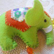 Móbile Decorativo - Elefante Indiano