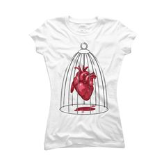 Caged Womens T Shirt