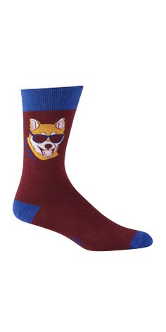 Hipster Corgi socks? Yeah, I can roll with that.