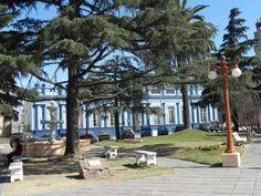 la plaza principal(bien pueblerina). Diamante, Entre Rios, Argentina