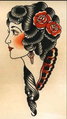 24 Trendy Tattoo Traditional Woman Old School Sailor Jerry Cat tattoo – Top Fashion Tattoos Traditional Tattoo Woman Face, Traditional Tattoo Flash, Tatto Old, Cat Tattoo, Elephant Tattoos, Animal Tattoos, Trendy Tattoos, Girl Tattoos, Tatuagem Old Scholl