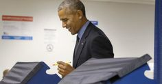 Tổng thống Obama đi bỏ phiếu sớm cho người kế nhiệm