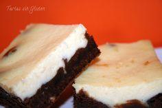 Tartas sin Gluten .....365 dias sin gluten: CheeseCake Brownie de Donna Hay .(Sin Gluten)