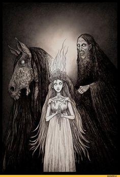 Джон Кенн Мортенсен,Мрачные картинки,красивые картинки