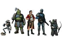 Star Wars Characters Pictures, Star Wars Images, Character Art, Character Design, Character Concept, D&d Star Wars, High Fi, Star Wars Species, Edge Of The Empire
