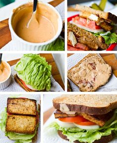 15 Vegan Salad Dressing Recipes - Lunch Box Bunch - includes the Chipotle Dressing, Balsamic, Tahini-Maple, Ranch, Curried, Spicy Peanut, Creamy Avocado, Maple-Lemon, Poppyseed, Tamari-Miso, Spicy BBQ, Creamy Hummus, Lime Agave, Creamy Pesto - plus there are lots of recipes to use these...