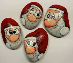 50 Amazing Painted Rocks Houses Ideas You'll Love – Christmas – Noel 2020 ideas Pebble Painting, Pebble Art, Stone Painting, Rock Painting, Stone Crafts, Rock Crafts, Christmas Crafts For Kids To Make, Christmas Rock, Painted Rocks Kids