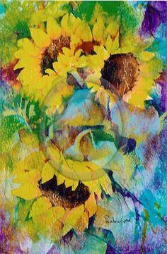 Sunflowers by Pauline Grove