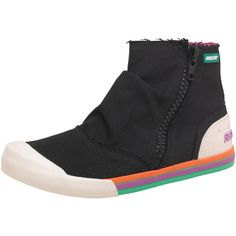 Buy Rocket Dog Womens Jolie Set Sail Canvas Shoes Black at mandmdirect.com