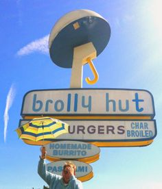 Brolly Hut - Inglewood, CA  http://thewackytacky.blogspot.com/2014/04/chow-time-brolly-hut.html