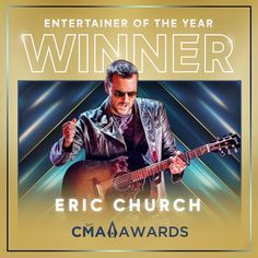 Entertainer Of The Year, Double Down, Eric Church, Country Music, Dj, Singer, Tours, Entertaining, Movie Posters