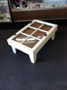 shadow box table
