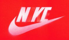 Nike NYC: New York City meets Nike, Just Do It meets Do It Yourself