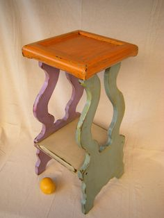 shabby small table